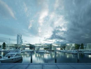 Architektura Gdyni: nowa marina według projektu Studia Architektonicznego Kwadrat