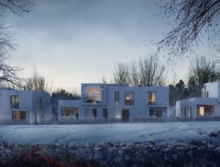 Ceglane wille w Oslo, czyli architektura norweska z widokiem