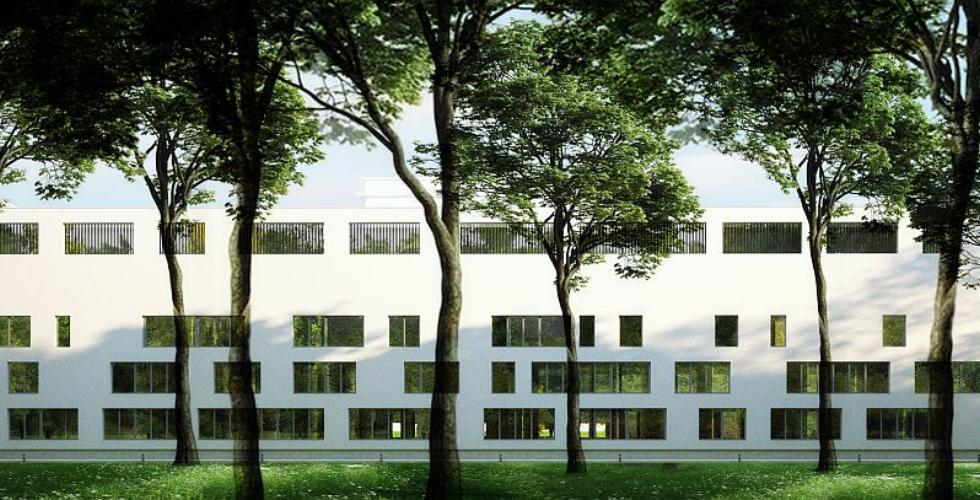 Projekt Szpitala Bielańskiego w Warszawie
