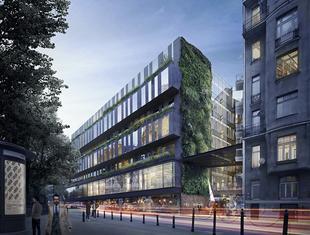 Rozbudowa hotelu Rialto w Warszawie