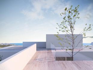 Willa Benissa nad morzem Śródziemnym według projektu Q2Studio z Wrocławia